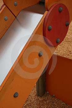 Details Of Playground Slide Stock Photo - Image: 1030340