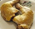 Chicken's leg Stock Photo
