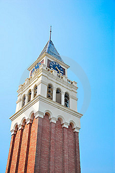 Towering Majestic Clock Tower Royalty Free Stock Photography - Image: 10300247