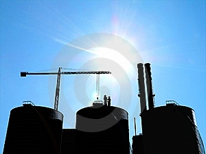 Industrial Structure Stock Images - Image: 10300594