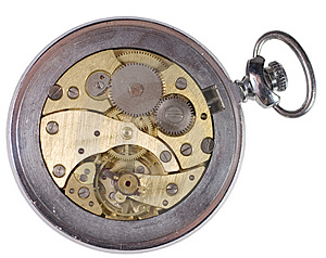 Old Watch Mechanism Stock Photography - Image: 10303092