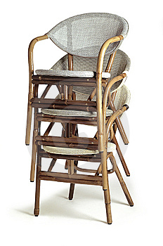 Four Chair Royalty Free Stock Image - Image: 10303616