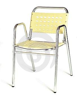 Yellow Cafe Chair Stock Photos - Image: 10303663