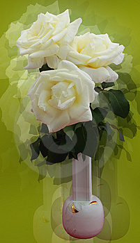 Styled Roses Royalty Free Stock Photo - Image: 10306425