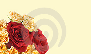 Background With A Rose Royalty Free Stock Images - Image: 10307879