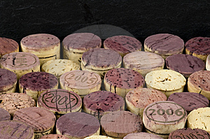 Cork Top Background Stock Photo - Image: 10308040