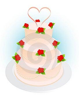 Wedding Pie Stock Photo - Image: 10311430