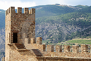 Ancient Fortress Royalty Free Stock Images - Image: 10315129