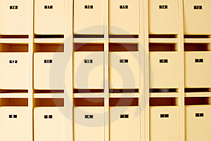 Mailboxes Stock Photo - Image: 10316770