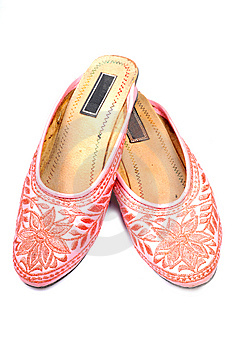 Thread Crafted Ladies Footwear Stock Image - Image: 10318211