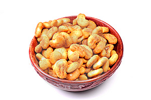 Cashew-nut Shaped Biscuits Royalty Free Stock Photos - Image: 10318428