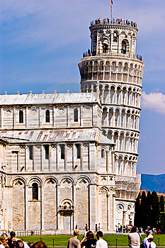 Leaning Tower Of Pisa Italy Royalty Free Stock Photos - Image: 10329948