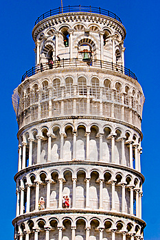 Leaning Tower Of Pisa Italy Stock Image - Image: 10330261