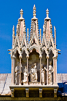 Duomo Cathedral Near The Leaning Tower Pisa Italy Stock Images - Image: 10330454