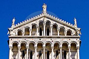 Duomo Cathedral Near The Leaning Tower Pisa Italy Stock Photography - Image: 10330492