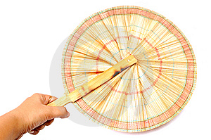 Designer Hand Fan Stock Images - Image: 10331294