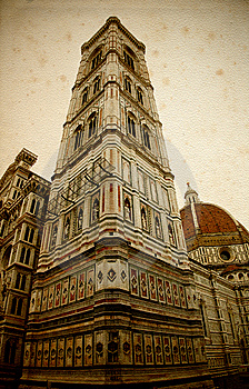 The Campanile Built From Giotto Stock Photos - Image: 10331403