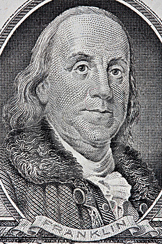 Portrait Of Benjamin Franklin Stock Images - Image: 10332484
