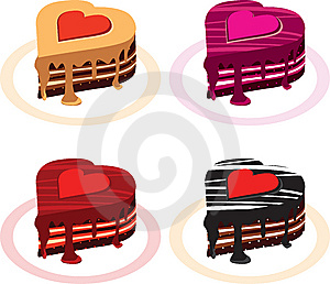 Love Cake Royalty Free Stock Photo - Image: 10332955