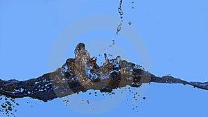 Splash Stock Photo - Image: 10333970