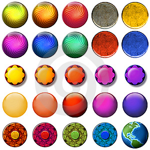 Web Buttons Stock Image - Image: 10335551