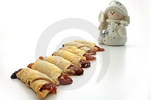 Cooky, Snowmen Royalty Free Stock Image - Image: 10335576