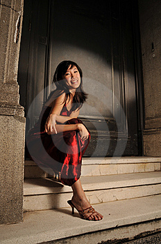 Beautiful Young Asian Woman Royalty Free Stock Photography - Image: 10336367