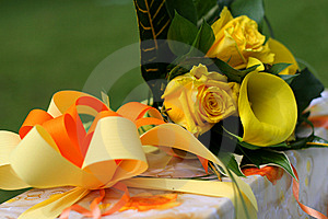 Decorated Present Stock Images - Image: 10337994