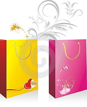 Packings For A Gifts To The Valentines Day Stock Photography - Image: 10338542