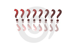 Question Marks Stock Image - Image: 10339151