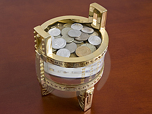 Chinese Treasure Chest Royalty Free Stock Photo - Image: 10339535