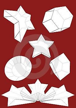 Jogo Do Vetor Do Objeto 3D Foto de Stock - Imagem: 10341670