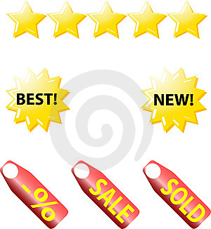 Web Icons. Internet Buttons Royalty Free Stock Photo - Image: 10342795