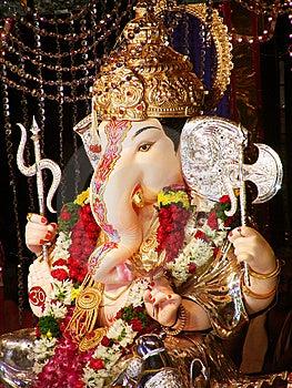Beautiful Lord Ganesha Stock Photo - Image: 10343810