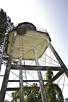 Old Water Tower Royalty Free Stock Photo - Image: 10344405
