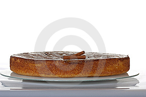 Cinnamon Pie Stock Image - Image: 10345121