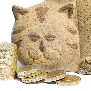 Cat Bank Stock Image - Image: 10345721