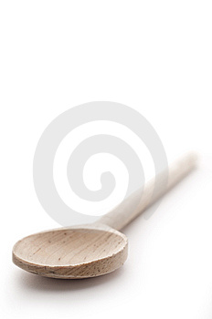 Shallow Focus Close Up Of A Wooden Spoon Stock Photos - Image: 10347143