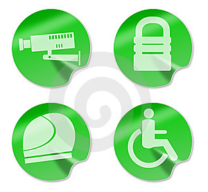 Camera Padlockhelmet Wheelchair Access Stock Images - Image: 10348054