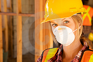 Female Constructin Worker Royalty Free Stock Photography - Image: 10348957
