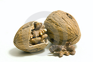 Pair Of Walnut Stock Photography - Image: 10352412