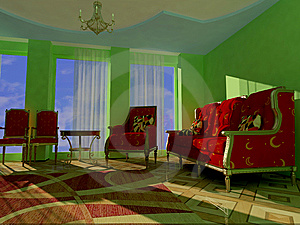 Interior Of Room Stock Images - Image: 10353114