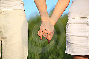 Hands To Be Held For Each Other Royalty Free Stock Images - Image: 10355309