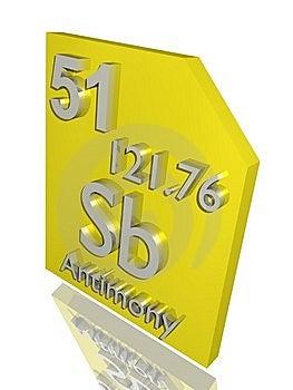 Antimony Royalty Free Stock Photos - Image: 10356898