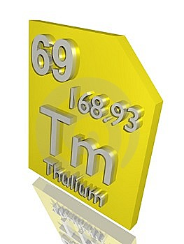 Thulium Royalty Free Stock Photo - Image: 10356965