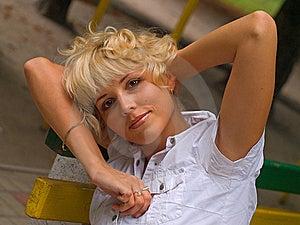 Sensuality  Blond Stock Image - Image: 10359171
