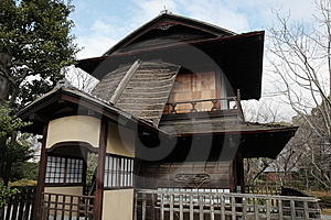 Roan Tea House In Japan Royalty Free Stock Photo - Image: 10362015