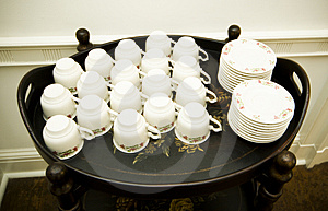 Tray Stock Image - Image: 1040251