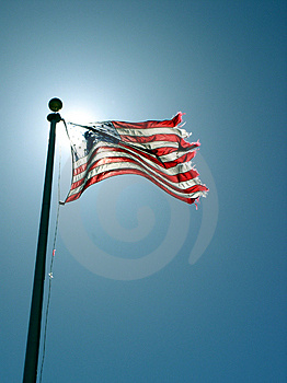 Freedom flag Stock Photos