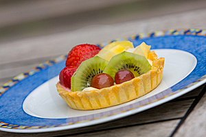 Fruit Tart Food